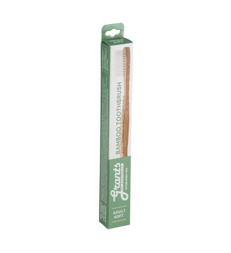 Grant's Bamboo Adult Soft Toothbrush