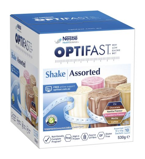 Optifast VLCD Shake Assorted 10 x 53g