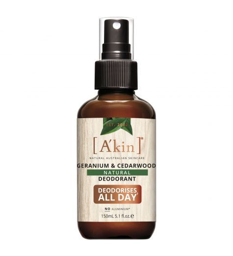 Akin Geranium & Cedarwood Natural Deodorant 150ml