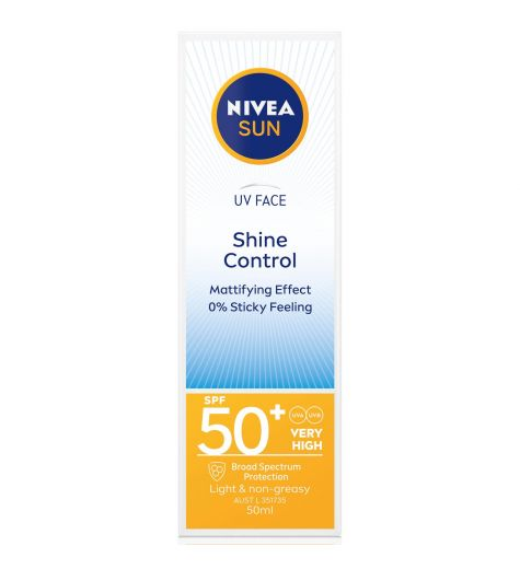Nivea Sun SPF 50 UV Face Shine Control 50ml