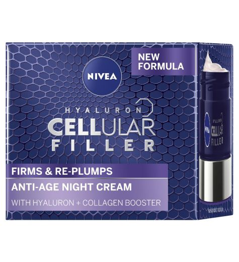 Nivea Hyaluron Cellular Filler Night Cream 50ml