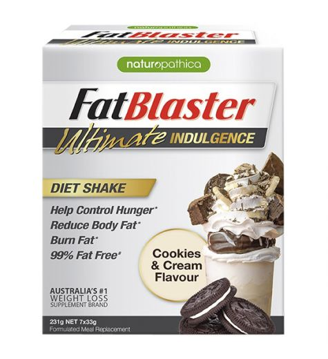 FatBlaster Ultimate Indulgence Cookies & Cream 7s
