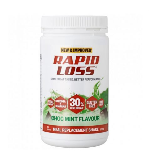 Rapid Loss Choc Mint Meal Replacement Shake 575g
