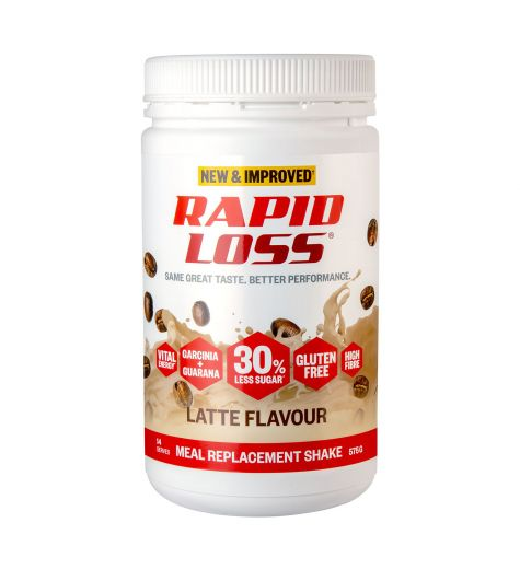 Rapid Loss Latte Meal Replacement Shake 575g