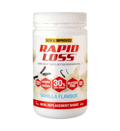Rapid Loss Vanilla Meal Replacement Shake 575g