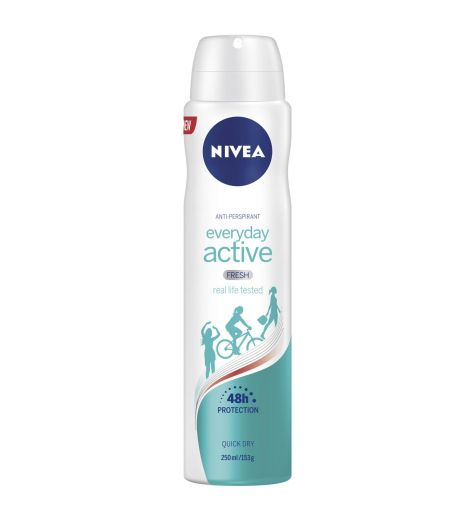 Nivea Womens Everyday Active Fresh Anti-Perspirant 250ml