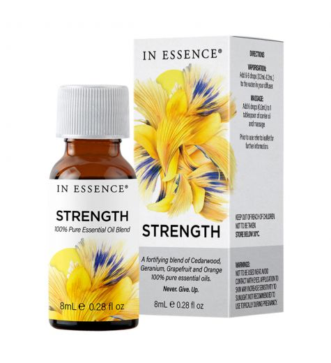 In Essence Strength Pure Essential Oil Blend 8ml