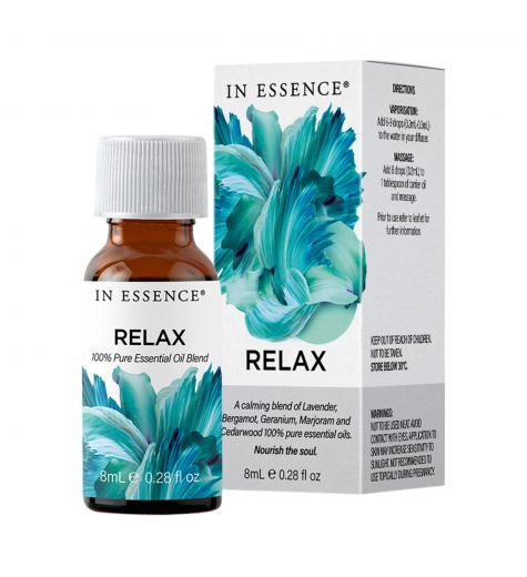 In Essence Relax Pure Essential Oil Blend 8ml