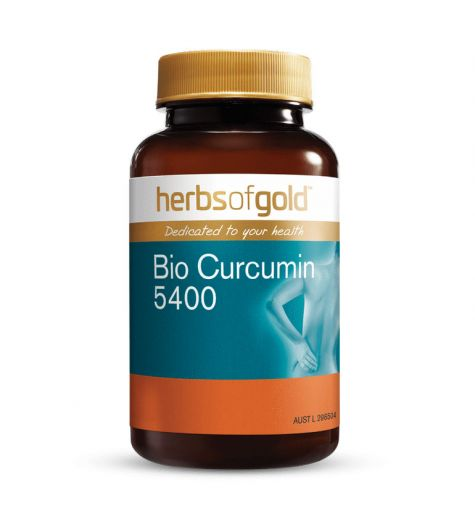 Herbs Of Gold Bio Curcumin 5400 30 Tablets