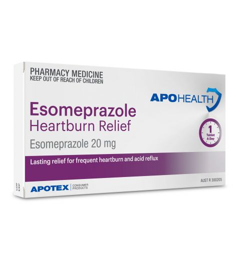 Apohealth Esomeprazole Heartburn Relief 20mg Tablets 14