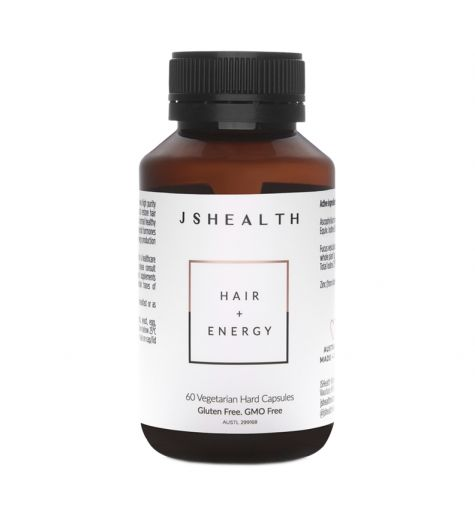 JS Health Hair + Energy Capsules 60