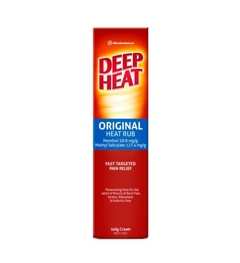 Deep Heat Mentholatum Cream Regular 140g