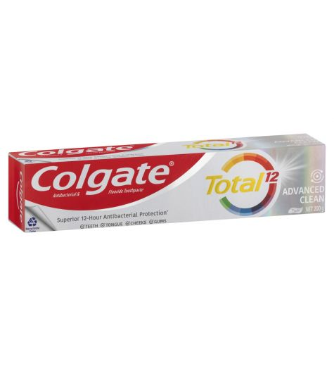 Colgate Total 12 Hour Advanced Clean Toothpaste 200g