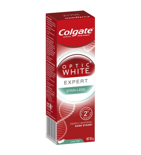 Colgate Optic White Stain-Less White Toothpaste 85g