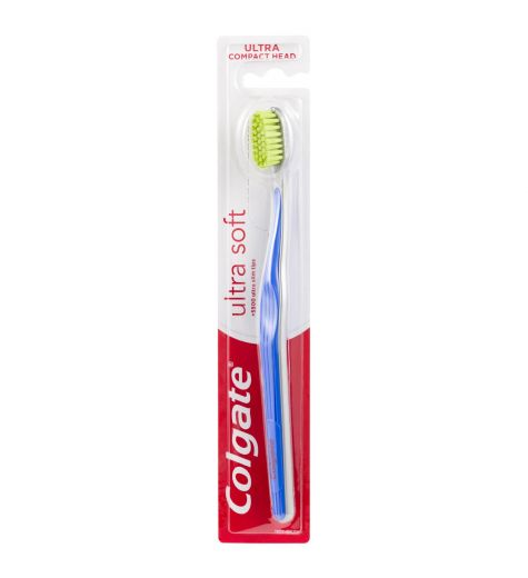 Colgate Ultra Soft Compact Head Toothbrush