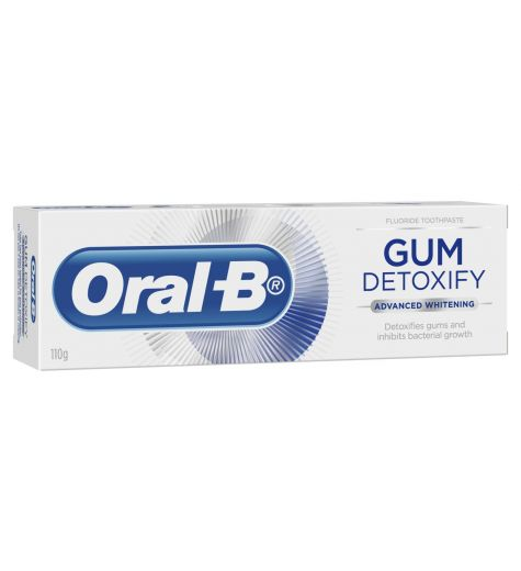 Oral B Gum Detoxify Advanced Whitening Toothpaste 110g