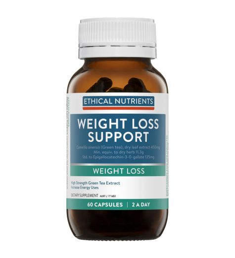 Ethical Nutrients Weight Loss Support 60 Vege Capsules