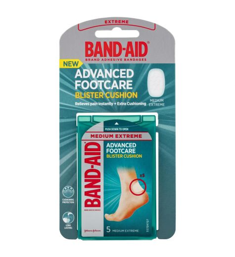 Band-Aid Advanced Footcare Blister Cushion 5 Pack
