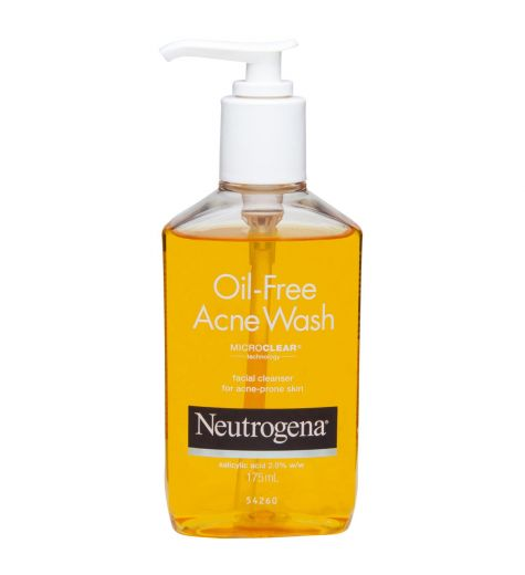 Neutrogena Acne Wash 175ml Oil Free
