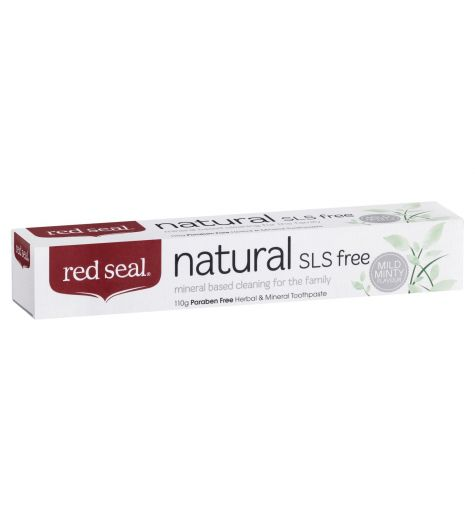 Red Seal Natural SLS Free Herbal & Mineral Toothpaste 110g