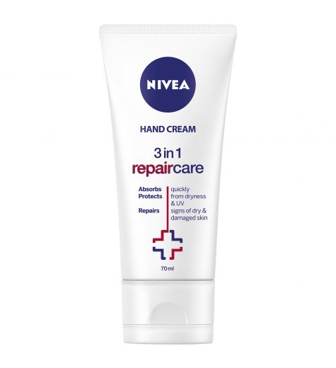 Nivea Hand Cream 3 In 1 Repair Care 70ml