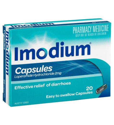 Imodium 2mg Capsules 20