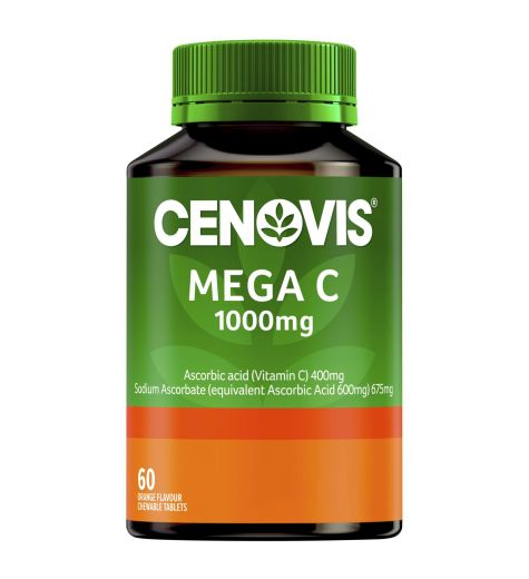 Cenovis Mega C 1000mg Orange 60
