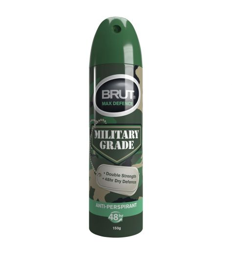 Brut Max Defence Military Grade Anti-Perspirant 150g/245ml