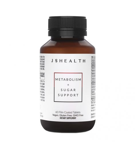 JS Health Metabolism + Sugar Support Tablets 60