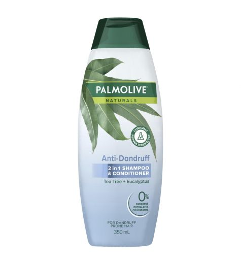 Palmolive Naturals Anti-Dandruff 2 In 1 Shampoo & Conditioner 350ml