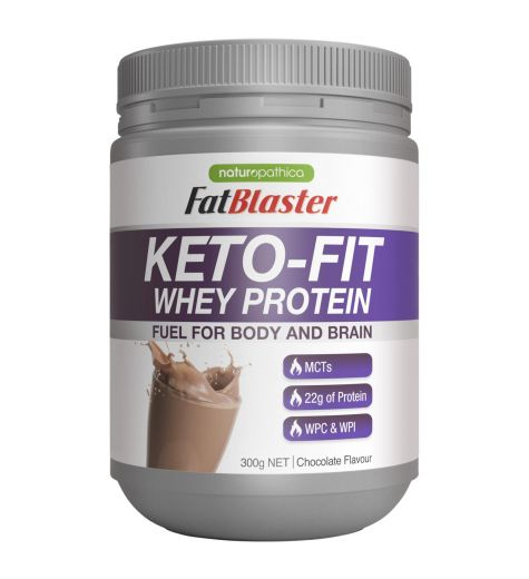 Fat Blaster Keto-Fit Chocolate Whey Protein 300g