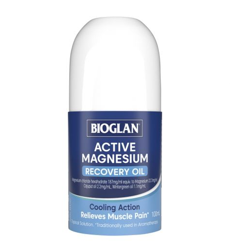 Bioglan Active Magnesium Recovery Oil Roll On 100ml