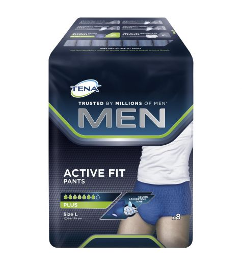 Tena Men Active Fit Plus Pants Large 8