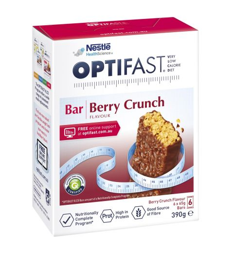 Optifast VLCD Berry 6 x 65g Bars