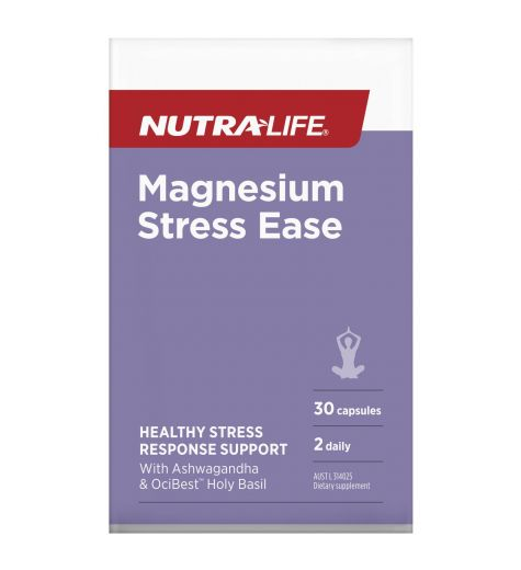 Nutra-Life Magnesium Stress Ease Capsules 30
