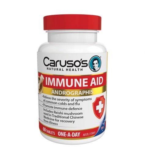 Caruso's Natural Health Immune Aid 60 Tablets