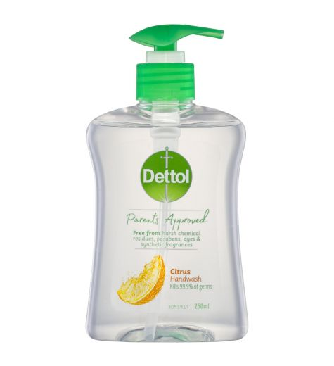 Dettol Parents Approved Citrus Handwash 250ml