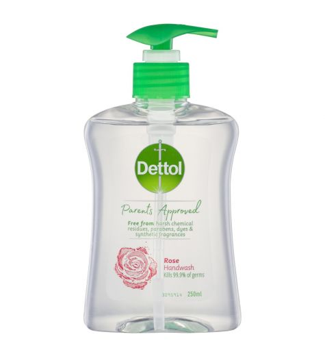 Dettol Parents Approved Rose Handwash 250ml