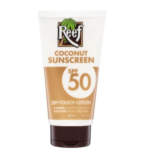 Reef Coconut Sunscreen SPF 50 Dry Touch Lotion 150ml