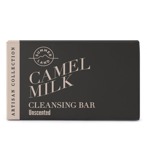 Summerland Camel Milk Unscented Cleansing Bar 100g