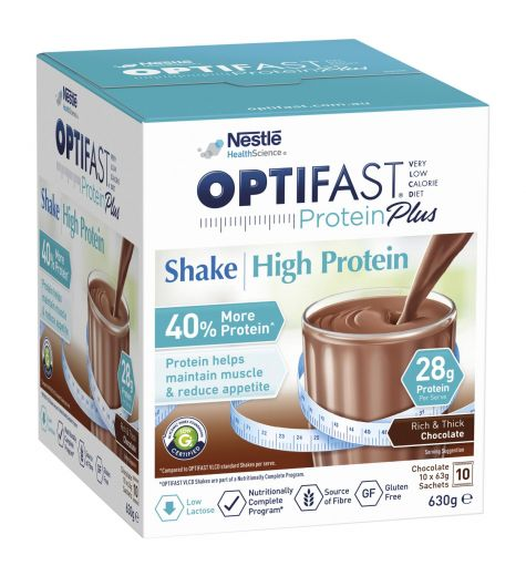 Optifast VLCD Protein Plus Chocolate Shake 10 Pack