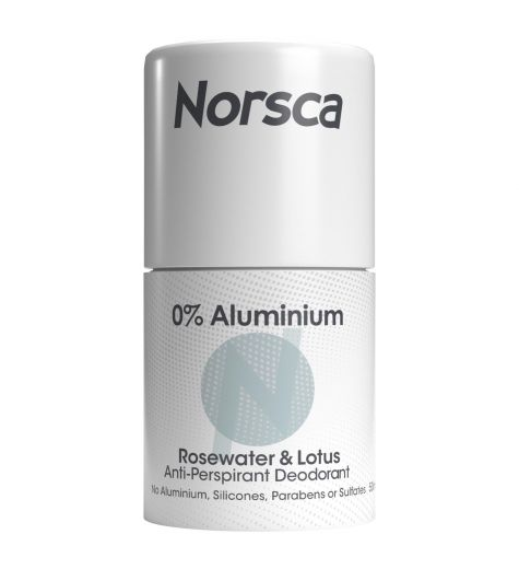 Norsca Aluminium Free Rosewater & Lotus Roll On Deodorant 50ml