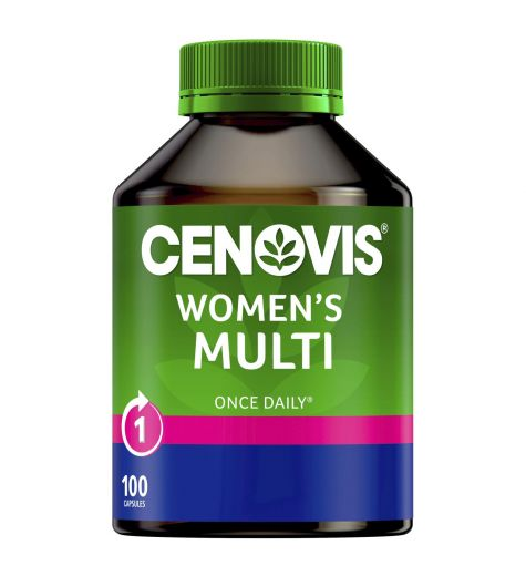 Cenovis Once Daily Womens Multi 100 Capsules