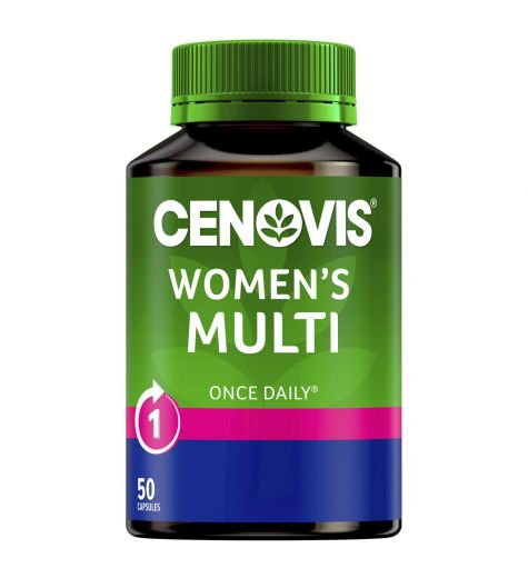Cenovis Women's Multi Once Daily 50 Capsules