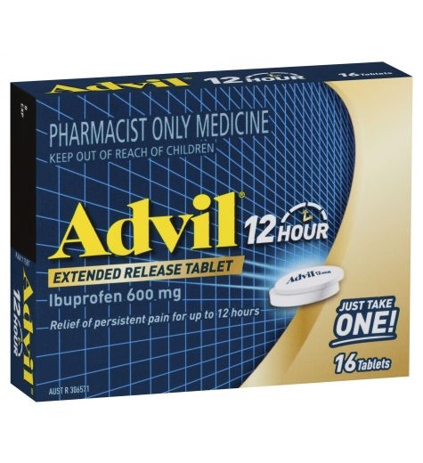 Advil 12 Hour Tablets 16