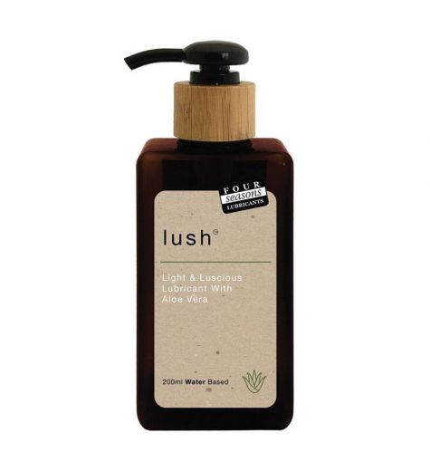 Four Seasons Lush Lubricant + Aloe Vera 200ml