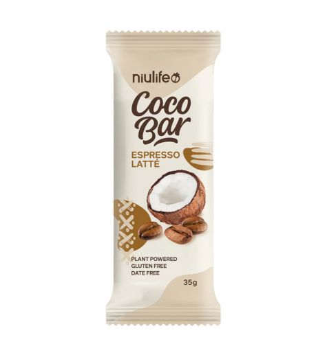 NiuLife Coco Bar Espresso Latte 35g