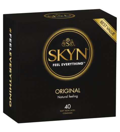 SKYN Original Non-Latex Condoms 40