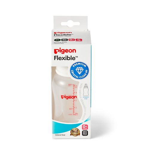 Pigeon Flexible™ Slim Premium Crystal Clear Nursing Bottle 150ml