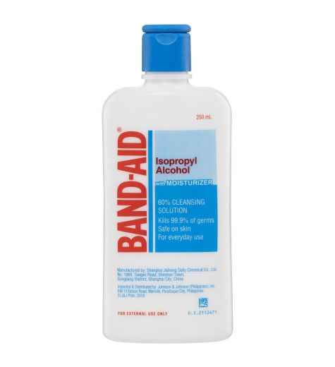 Band-Aid Isopropyl Alcohol With Moisturiser 250ml